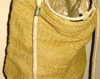 Jute (Hessian) drawstring sacks/bag
