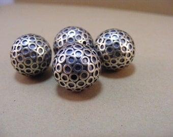 Sterling Silver Handmade Bali Bead Style 243