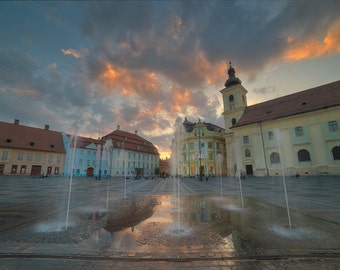 Sibiu Fountain, Romania