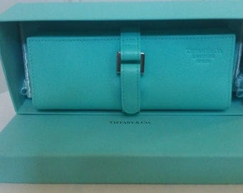 Tiffany & Co., Leather Jewelry Roll - Private Collection - Authentic