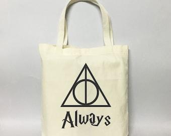 Always Deathly Hallows#01 Tote Bag