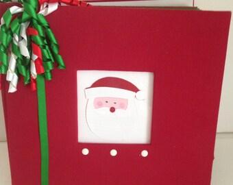 Christmas 8 X 8 Premade Album