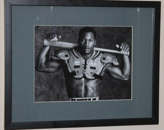 Bo Jackson 8x10 photo with Mat 11x14 and FRAMED