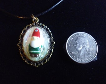 Christmas Gnome Necklace