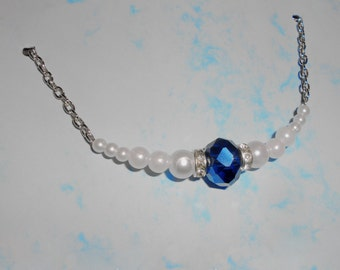 Crystal - Pearl Necklace