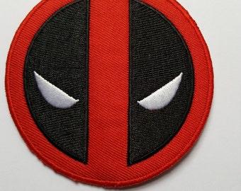 Deadpool Iron On Patch Transfer