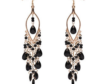 Bohemian Beaded Drop Earrings EA6022i