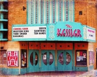 "Dallas, Texas - ""Dallas Oak Cliff Kessler""-(image is horizontal)"