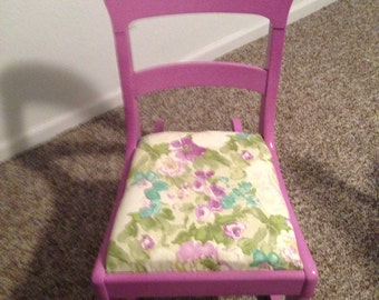 Vintage Orchid Chair