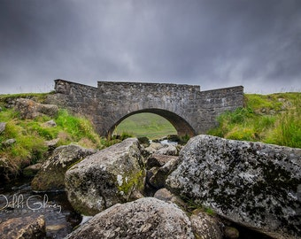 The P.S i love you bridge in the Wicklow Mountains