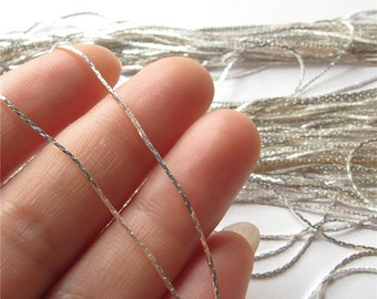 Very Thin Snake Chain Silver Chain Handmade Jewelry Finding 1.5mm