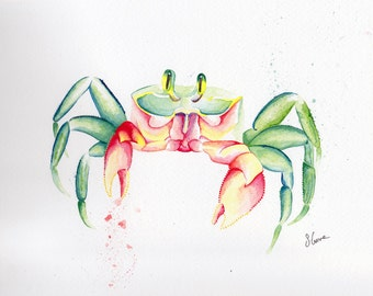 Sand Crab (A3 print with mount)