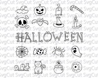 Halloween designs SVG Bundle, Halloween SVG, Halloween svg files, svg bundle, Halloween svg file, dxf, eps, Halloween Cut File