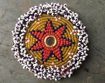 ON SLAE Gul, vintage kuchi bellydance medallion