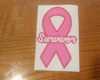 Breast Cancer Awareness Decal/ Survivor Decal