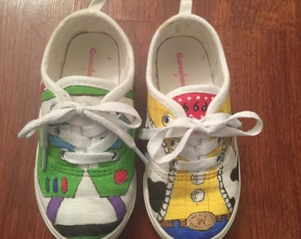 Toy Story Inspired Toddler Shoes: Buzz and Woody