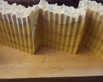 Flower of Flowers Soap. Ylang Ylang and patchouli cold process homemade soap. Made with real ylang ylang essential oil! Vegan