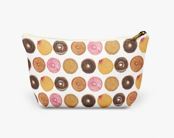 Doughnut Cosmetic Bag, Make up bag, Wash bag.