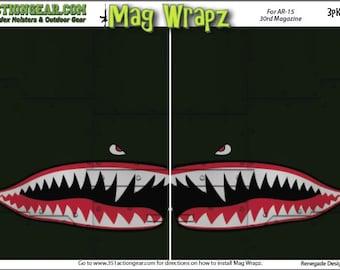 Mag Wrapz - Flying Tiger AR15 Magazine wrap