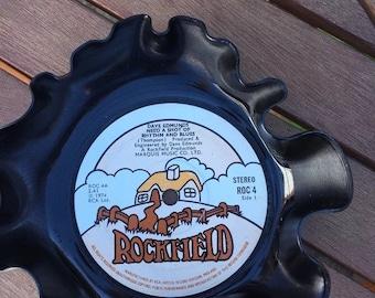Vintage Vinyl Record Key Holder - Dave Edmunds - Need A Shot Of Rhythm And Blues