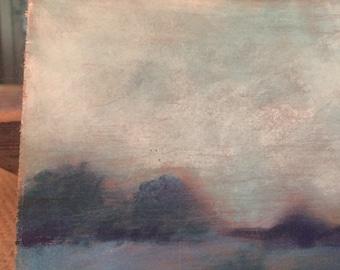 Landscape Study in Lavender