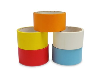 T.R.U. CFB-60 Color Artist Tape - Printable Flatback Paper Board or Console Tape: 60 yds.