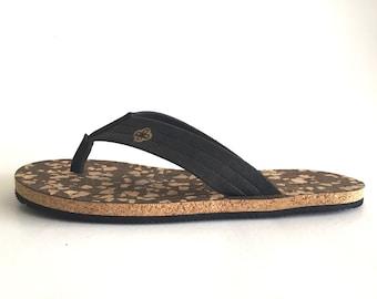 Natural Eco-Friendly Cork Sandals - Spots