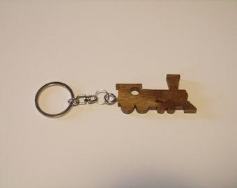 Train Keychain