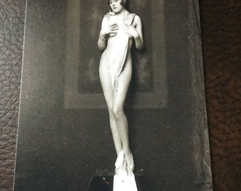 Ziegfeld Girls Alfred Cheney Johnson TinType C009NP