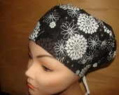 New Star Burst Euro Style Medical Surgical Scrub Hat Vet Nurse Chemo
