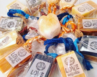 Vegan Soap & Crystal - Select your Scent ! - Weekly Special