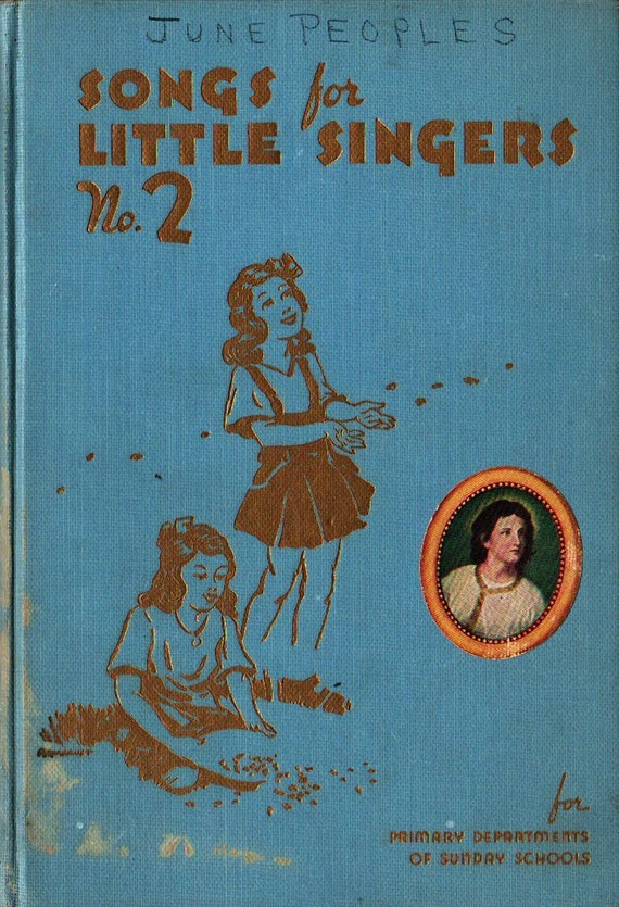 Songs for Little Singers No. 2 - Vintage Music Book