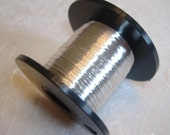 Silver colour British Craft Wire 0.2mm 175m long
