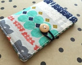 Bohemia - Pocket Pouch - Wallet - Business Card Holder / ID Case / Photo Holder