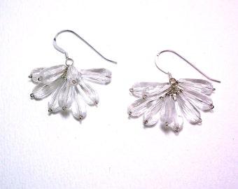 Shandi - Crystal quartz earrings