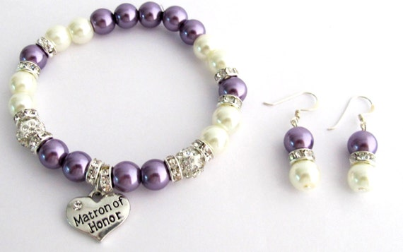 Wedding party gifts, bridesmaid bracelet, bridesmaid gift,Matron Of Honor Bracelet Maid Of Honor Bracelet Wedding Bracelet Free Shipping USA