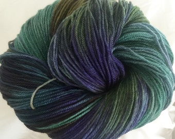 Temperamental- superwash bfl sock yarn