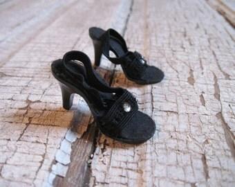 "High Heel Doll Shoe/Dolshoe Style No. 98 14""-18"" Doll/B.L. Custer Co. Marietta.GA"