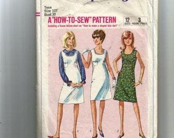 Simplicity sub-Teens', Teens' and Juniors' Dress or Jumper Pattern 6319