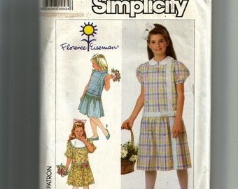 Simplicity Girls' Dress Pattern 7922