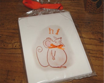 8 note cards all occasion hi greeting cards blank inside for your message