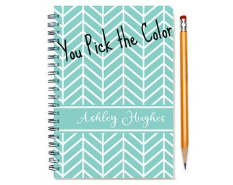 18 month custom planner, Start any month, personalized weekly planner, 2016-2017-2018 18 month customizable planner, SKU: epi chev sc