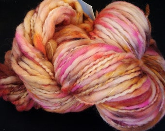 Hand dyed Merino Yarn Bulky 120 yds 4 oz. knitting supplies