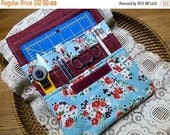 ON SALE 50% OFF Posies Notions Keeper