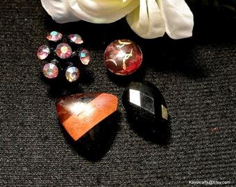 Black Thumbtacks Pushpins, Black Brown Thumb Tacks Push Pins, Cork Board Accessory, Office Decor,