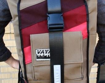 Marsala Rolltop Backpack