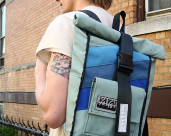 Sea Spray Rolltop Backpack
