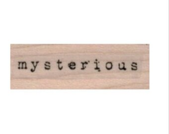 rubber stamp Mysterious quote stamps  no19834 scrapbooking supplies  stamping sewing