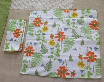Vintage Vera Neumann Cotton Cloth Napkins