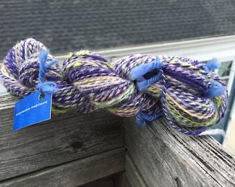 WETLANDS - 98 yards Handspun BFL, Shetland, Cotswold, and Nylon DK yarn